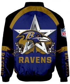 Baltimore Ravens Bomber Jacket Men Women