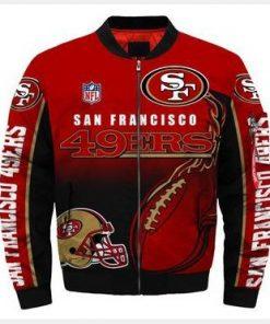 San Francisco 49ers Bomber Jacket Men Women