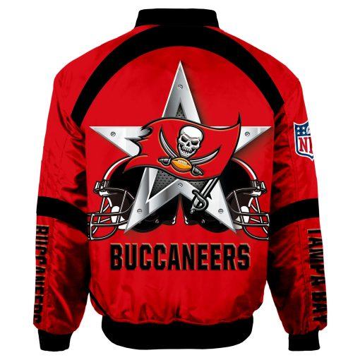 Tampa Bay Buccaneers Bomber Jacket Men Women
