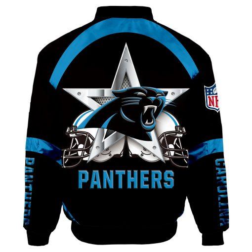 Carolina Panthers Bomber Jacket Men Women
