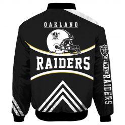 Oakland Raiders Air Force One Flight Jacket