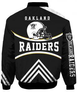 Oakland Raiders Air Force One Flight Jacket