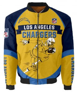Los Angeles Chargers Bomber Jacket Men Women