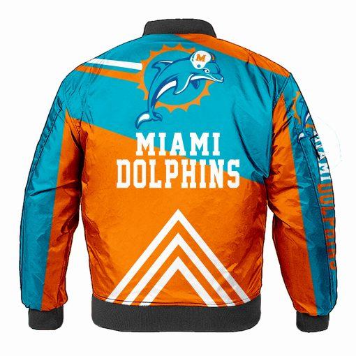 Miami Dolphins Bomber Jacket Men Women
