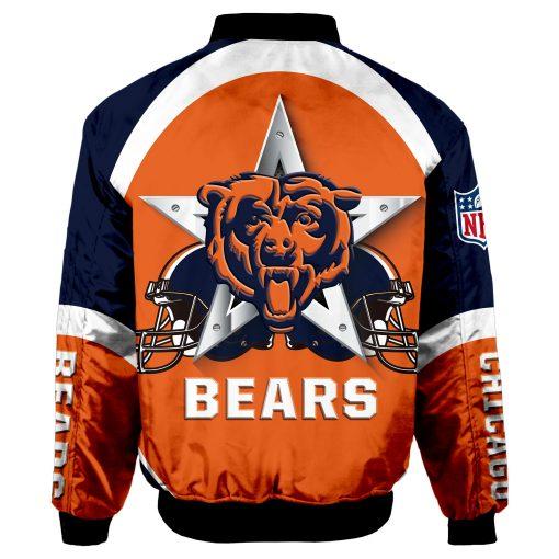 Chicago Bears Bomber Jacket Men Women