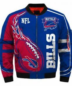 Buffalo Bills Bomber Jacket Men Women