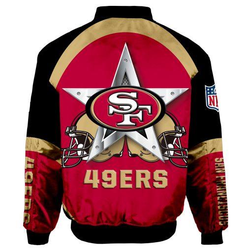 San Francisco 49ers Bomber Jacket Unisex