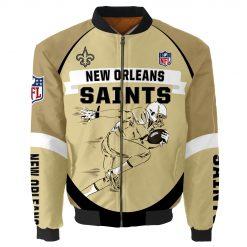 New Orleans Saints Bomber Limited Jacket Men Women