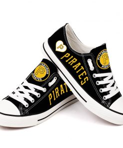 Pittsburgh Pirates Limited Low Top Canvas Sneakers