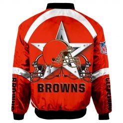 Cleveland Browns Bomber Jacket Men Women