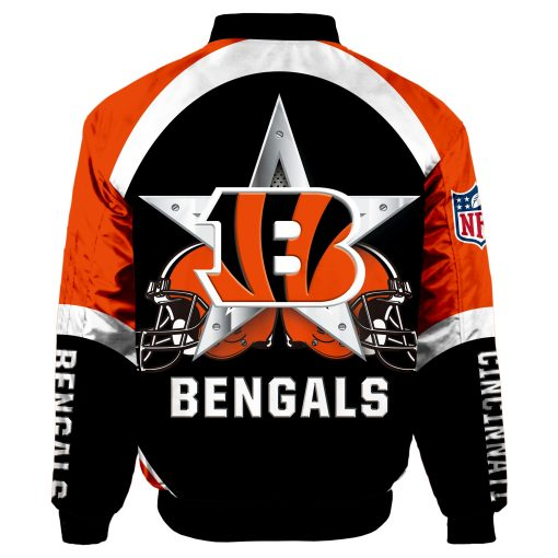 Cincinnati Bengals Force One Flight Jacket