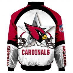 Arizona Cardinals Air Force One Flight Jacket MAS048