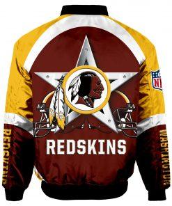 Washington Redskins Bomber Jacket Unisex