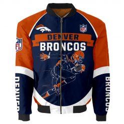 Denver Broncos Bomber Jacket Unisex