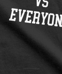 one yona New England VS Everyone T Shirts Men Football Patriots Baseball Printed Tops Funny T 1