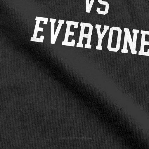 one yona New England VS Everyone T Shirts Men Football Patriots Baseball Printed Tops Funny T 1