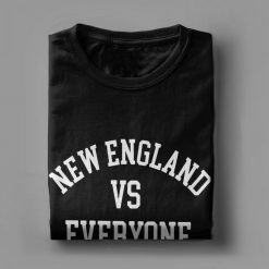 one yona New England VS Everyone T Shirts Men Football Patriots Baseball Printed Tops Funny T 2