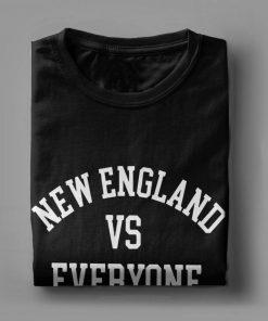 one yona New England VS Everyone T Shirts Men Football Patriots Baseball Printed Tops Funny T 2