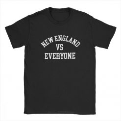 one yona New England VS Everyone T Shirts Men Football Patriots Baseball Printed Tops Funny T