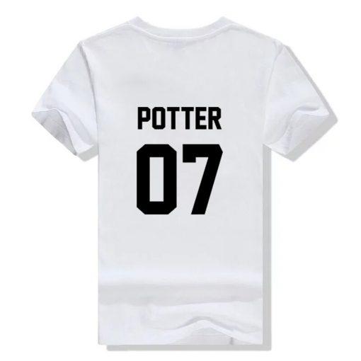 2018 fashion Unisex t shirts Potter 07 tshirt High Quality Screen Print cotton unisex tumblr women 1