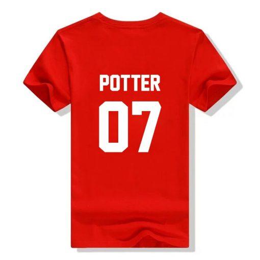 2018 fashion Unisex t shirts Potter 07 tshirt High Quality Screen Print cotton unisex tumblr women 3