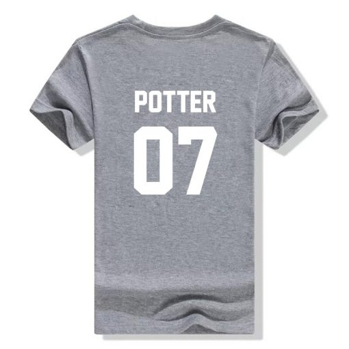 2018 fashion Unisex t shirts Potter 07 tshirt High Quality Screen Print cotton unisex tumblr women 4