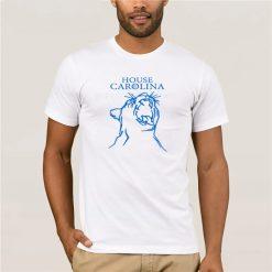 2019 Fashion Men T Shirt HOUSE CAROLINA SHIRT CAROLINA PANTHERS GAME OF THRONES