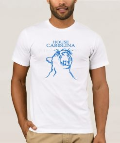 2019 Fashion Men T Shirt HOUSE CAROLINA SHIRT CAROLINA PANTHERS GAME OF THRONES
