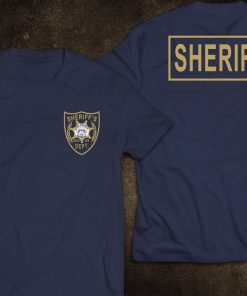 2019 Fashion NEW Sheriff King County Georgia Police United States The Walking Dead T Shirt Tee 2