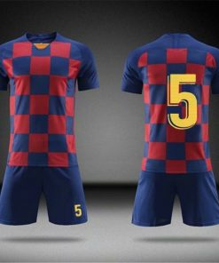2019 Football jerseys Boys and girls Soccer Clothes Sets Men child Futbol Barcelona Training Uniforms Kids 1