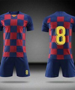 2019 Football jerseys Boys and girls Soccer Clothes Sets Men child Futbol Barcelona Training Uniforms Kids 2