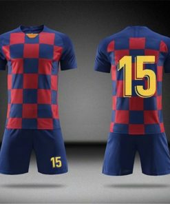 2019 Football jerseys Boys and girls Soccer Clothes Sets Men child Futbol Barcelona Training Uniforms Kids 4