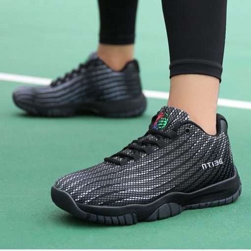 2019 High Quality men Sneakers Brand Cushioning Shockproof Basketball Shoes men s Training Boots Breathable Cushion 4