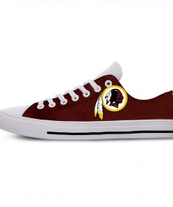 2019 Hot Fashion Printing Comfortable Shoes Colorful Redskins Cool Unisex Lightweight Casual Shoes 4