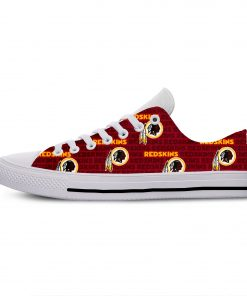 2019 Hot Fashion Printing Comfortable Shoes Colorful Redskins Cool Unisex Lightweight Casual Shoes 5