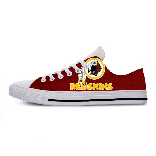 2019 Hot Fashion Printing Comfortable Shoes Colorful Redskins Cool Unisex Lightweight Casual Shoes 7