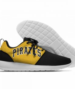 2019 Hot Fashion Printing Pittsburgh Pirates Logos Lightweight Sport Shoes for Walking for Family Friends 1