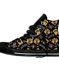 2019 Hot Fashion Printing Pittsburgh Pirates Logos Lightweight Sport Shoes for Walking for Family Friends 10