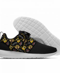2019 Hot Fashion Printing Pittsburgh Pirates Logos Lightweight Sport Shoes for Walking for Family Friends 2