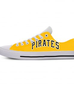 2019 Hot Fashion Printing Pittsburgh Pirates Logos Lightweight Sport Shoes for Walking for Family Friends 5