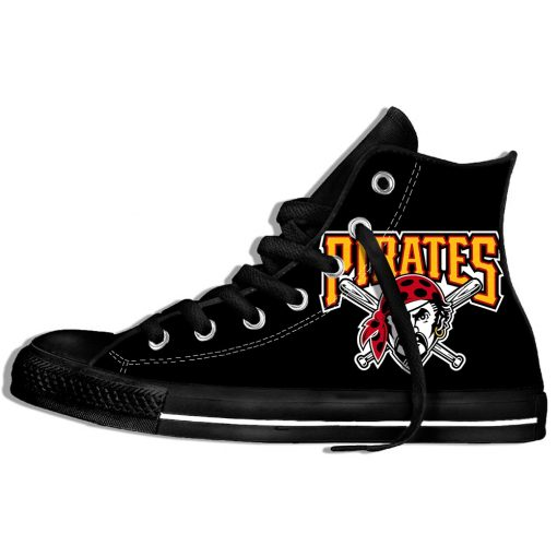 2019 Hot Fashion Printing Pittsburgh Pirates Logos Lightweight Sport Shoes for Walking for Family Friends 8