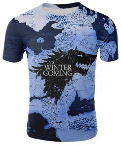 2019 Hot Sale Game of Thrones tshirt Men Targaryen Fire Blood Dragon tee shirt game of 3