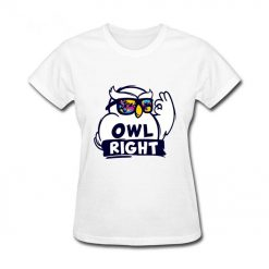 2019 Hot Sale women s shirt Harry Casual Tops Potter Cute girls Stylish Owl right Printed 1