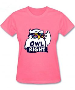2019 Hot Sale women s shirt Harry Casual Tops Potter Cute girls Stylish Owl right Printed 4
