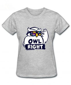2019 Hot Sale women s shirt Harry Casual Tops Potter Cute girls Stylish Owl right Printed 5
