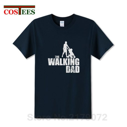 2019 Latest Awesome Vintage design The Walking Dad T shirts Perfect Birthday Thanksgiving Gift for Papa 2