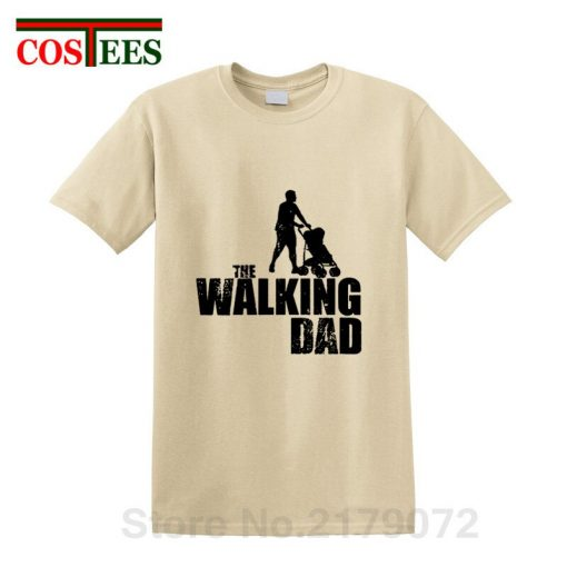 2019 Latest Awesome Vintage design The Walking Dad T shirts Perfect Birthday Thanksgiving Gift for Papa 4