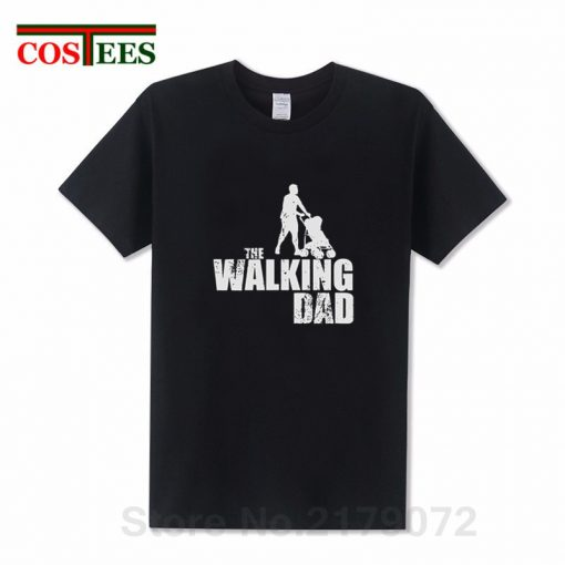2019 Latest Awesome Vintage design The Walking Dad T shirts Perfect Birthday Thanksgiving Gift for Papa