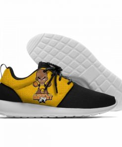 2019 Los Angeles LA Lakers Fans Sports Shoes 8 24 Bryant Black Manba Cute Cartoon Sneaker