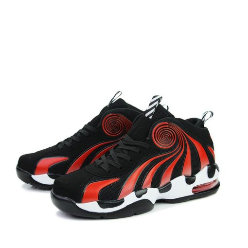 2019 Men s shock absorbing non slip basketball shoes fashion comfortable breathable sneakers basketball shoes high 5
